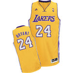 Camiseta Kobe Bryant 24. Los Angeles Lakers Amarillo