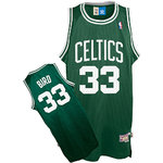 Camiseta Larry Bird. Boston Celtics Verde