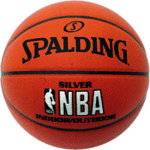 Balón Spalding Silver indoor/outdoor