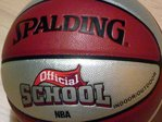 Balón Spalding Old School Bicolor femenino indoor-outdoor