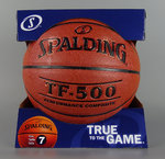 Balón baloncesto TF 500 Spalding. Indoor-outdoor. Talla 7