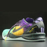 Zapatilla Nike Kobe 8. Black/Yellow/Green