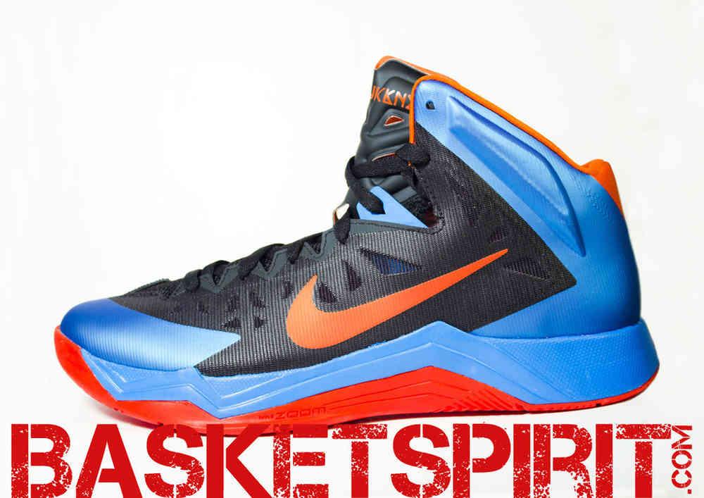 Zapatillas Nike Azules Y Naranjas