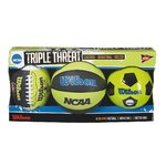 Pack NCAA TRIPLE THREAT FB KIT