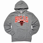 Capucha Chicago Bulls gris. Mitchell and Ness.