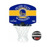Mini canasta Golden State Warriors. NBA Spalding