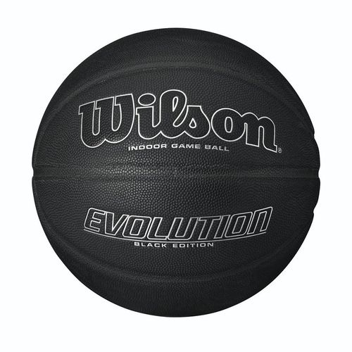 Wilson Evolution Black Edition Game Ball - Silver. Talla 7