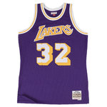 Camiseta Magic Johnson. Los Angeles Lakers. Hardwood Classics. Morada
