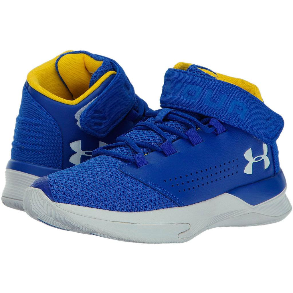 c72a40b31d7 Zapatilla baloncesto niño azul. Under Armour. Get B Zee ...