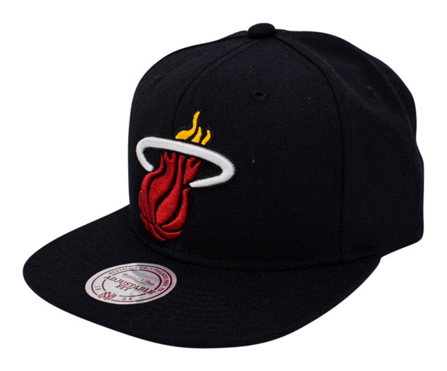 Gorra Miami Heat. NBA Snapback. Mitchell Ness - Regalos NBA a5e21ad4473
