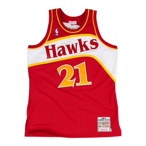 Camiseta Dominique Wilkins. Atlanta Hawks. NBA Hardwood Classics
