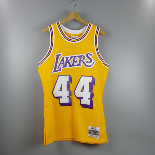 Camiseta Jerry West. Angeles Lakers NBA Hardwood Classics