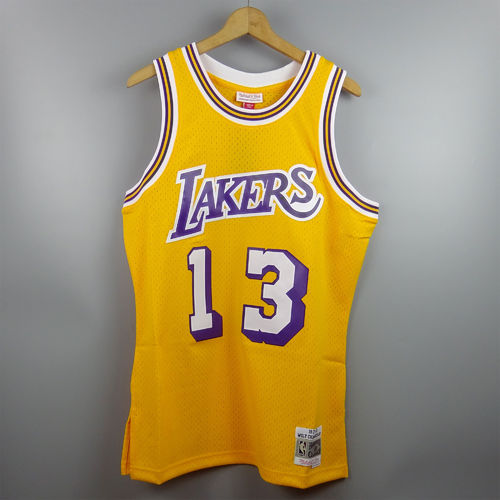Camiseta Wilt Chamberlain. Angeles Lakers NBA Hardwood Classics