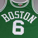 Camiseta Bill Russell. Boston Celtics Verde. Hardwood Classics