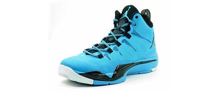 zapatillas de basquet jordan azules