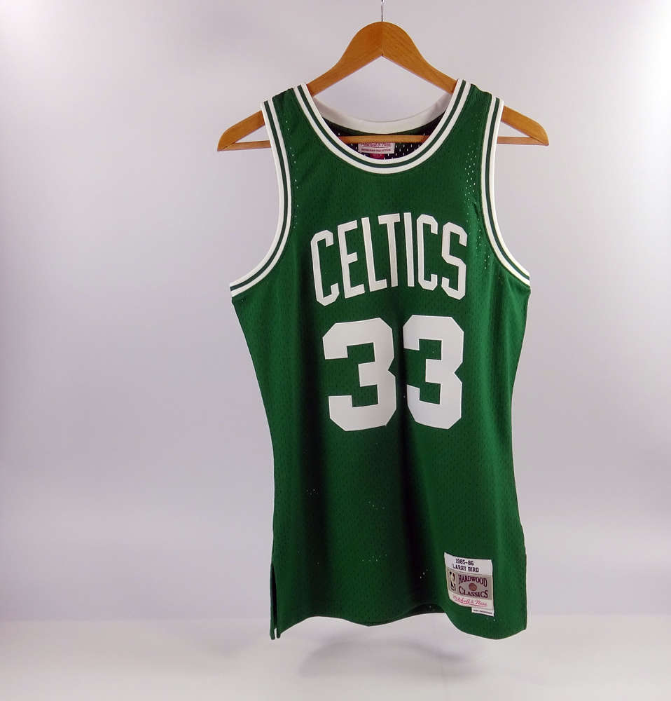 35e6b804f Camiseta Larry Bird. Boston Celtics Verde - Swingman - Mitchell ...