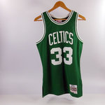 Camiseta Larry Bird. Boston Celtics Verde. Hardwood Classics