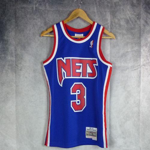 03be892ec Camiseta Drazen Petrovic. New Jersey Nets. Hardwood Classics. Swingman