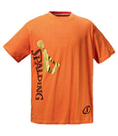 Camiseta Spalding tee player. Naranja. Outlet ultima