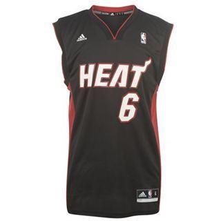51008df63 Camiseta Lebron James Miami Heat Replica NBA - Camiseta NBA