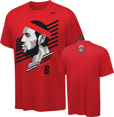 f77a81b8c9 Camiseta Nike Hero Lebron James - Basketspirit