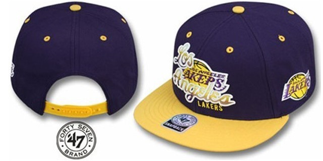 Gorra Los Angeles Lakers Tricky Lou - Forty Seven Brand f411f5ac8c4