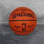 Balón Spalding NBA Gameball Réplica Outdoor. Firma Adam Silver