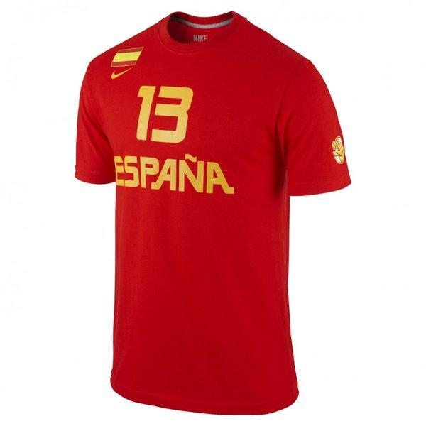 inversión acortar Hija  Camiseta con mangas Marc Gasol España Baloncesto - BASKETSPIRIT