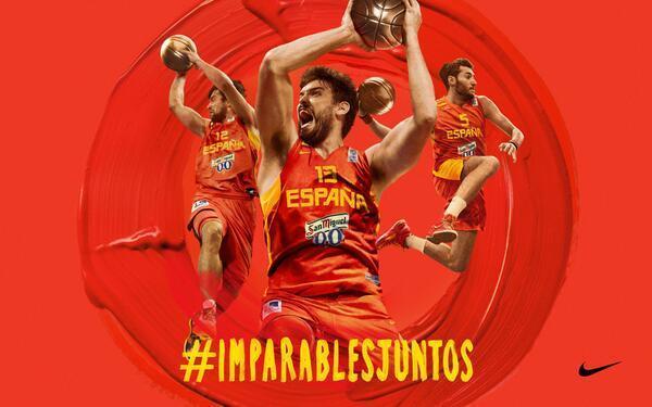 aa02553d617 Camisetas España Baloncesto - Equipaciones oficiales Nike