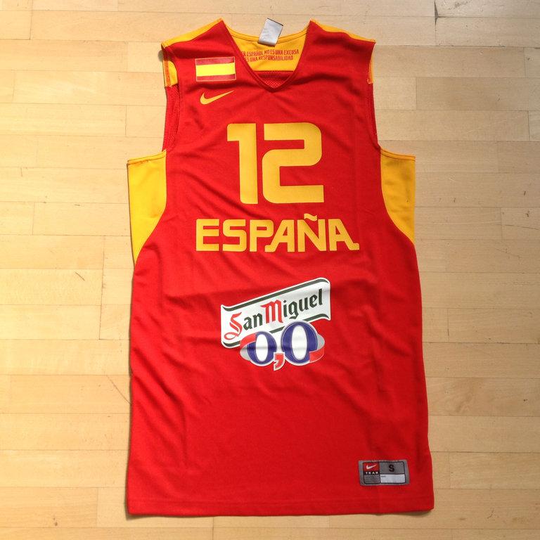 2074e1a708dd4 Camiseta España Sergi Llull Replica - BASKETSPIRIT.COM