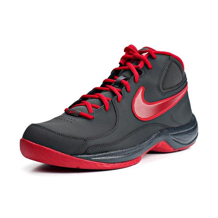quality design 3a14e e8291 Zapatilla Nike The Overplay VII Negro-Rojo