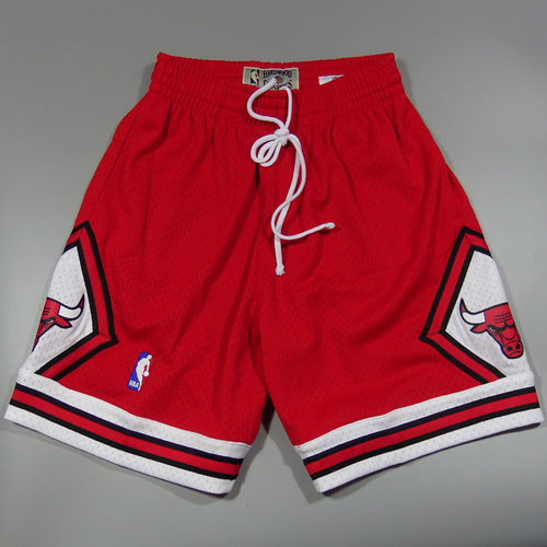 Shorts Chicago Bulls NBA. rojos. Swingman. Hardwood Classics