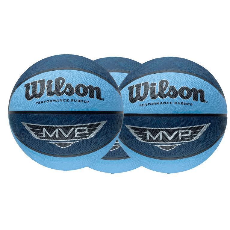 Pack ahorro 3 balones Wilson MVP talla 7 - BASKETSPIRIT.COM 0e0cf7e3cafb1