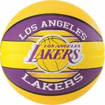 Balón Los Angeles Lakers NBA Team-Ball. Spalding. Talla 7