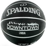 Balón Spalding NBA Downtown. Negro