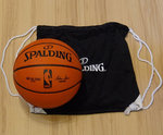 Pack Balón NBA Replica Outdoor con bolsa Spalding