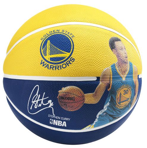Balón Spalding NBA Stephen Curry. Golden State Warriors talla 7