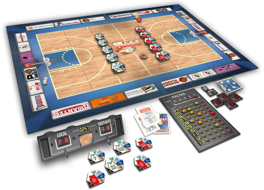 Basketball Age Juego De Mesa De Estrategia De Baloncesto