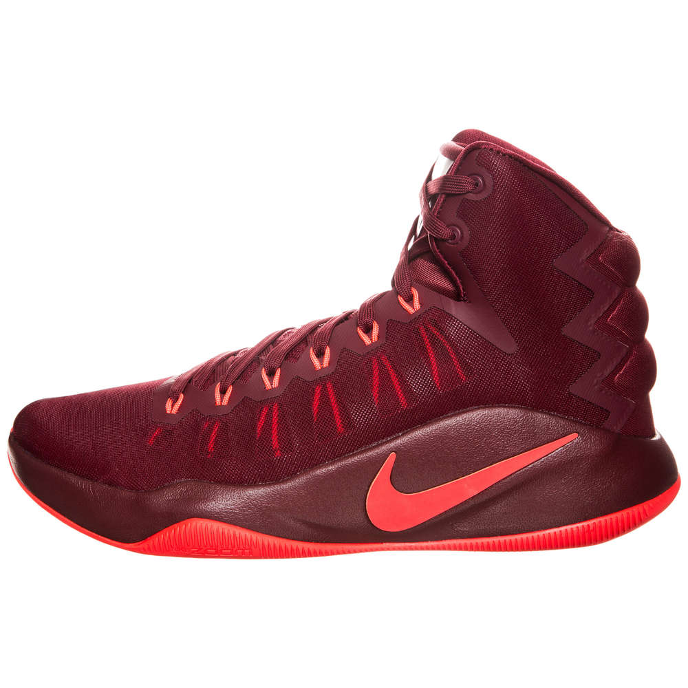 zapatillas nike baloncesto rojas niños
