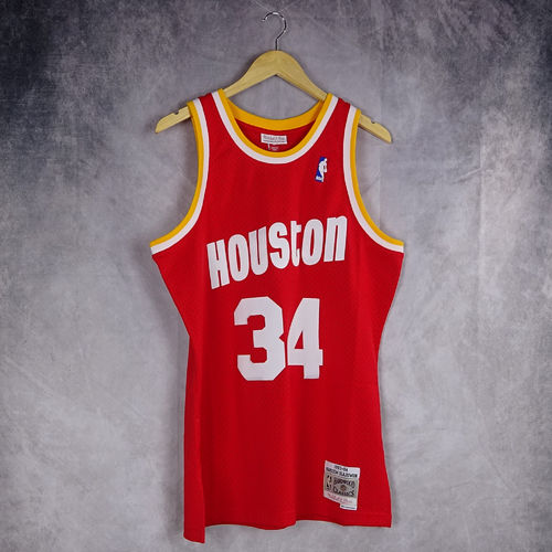Camiseta Hakeem Olajuwon. Houston Rockets. Swingman. Mitchell and Ness