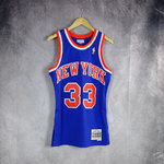 Camiseta Patrick Ewing. New York Knicks. Swingman. Hardwood Classics.