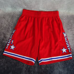 Pantalones cortos All-Star NBA  West 1998. Swingman. Hardwood Classics. Rojos