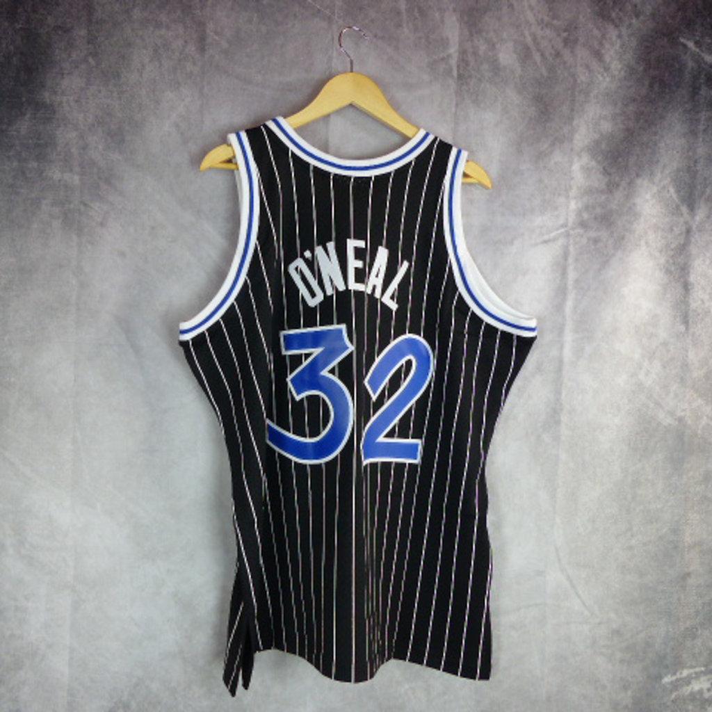 Camiseta Shaquille O'Neal .Orlando Magic. Hardwood Classics. Swingman Fandation