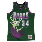 Camiseta Ray Allen. Milwaukee Bucks. Hardwood Classics