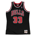 Scottie Pippen. Chicago Bulls. Negra-Roja. Hardwood Classics.Swingman Fandation