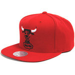 Gorra Chicago Bulls NBA roja. Windy City