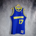 Camiseta Chris Mullin. Golden State Warriors. Hardwood Classics