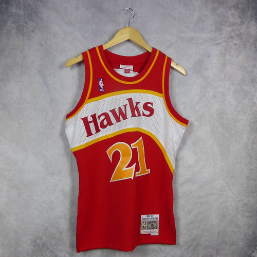 cf4c14c63 Camiseta Dominique Wilkins. Atlanta Hawks. NBA Hardwood Classics