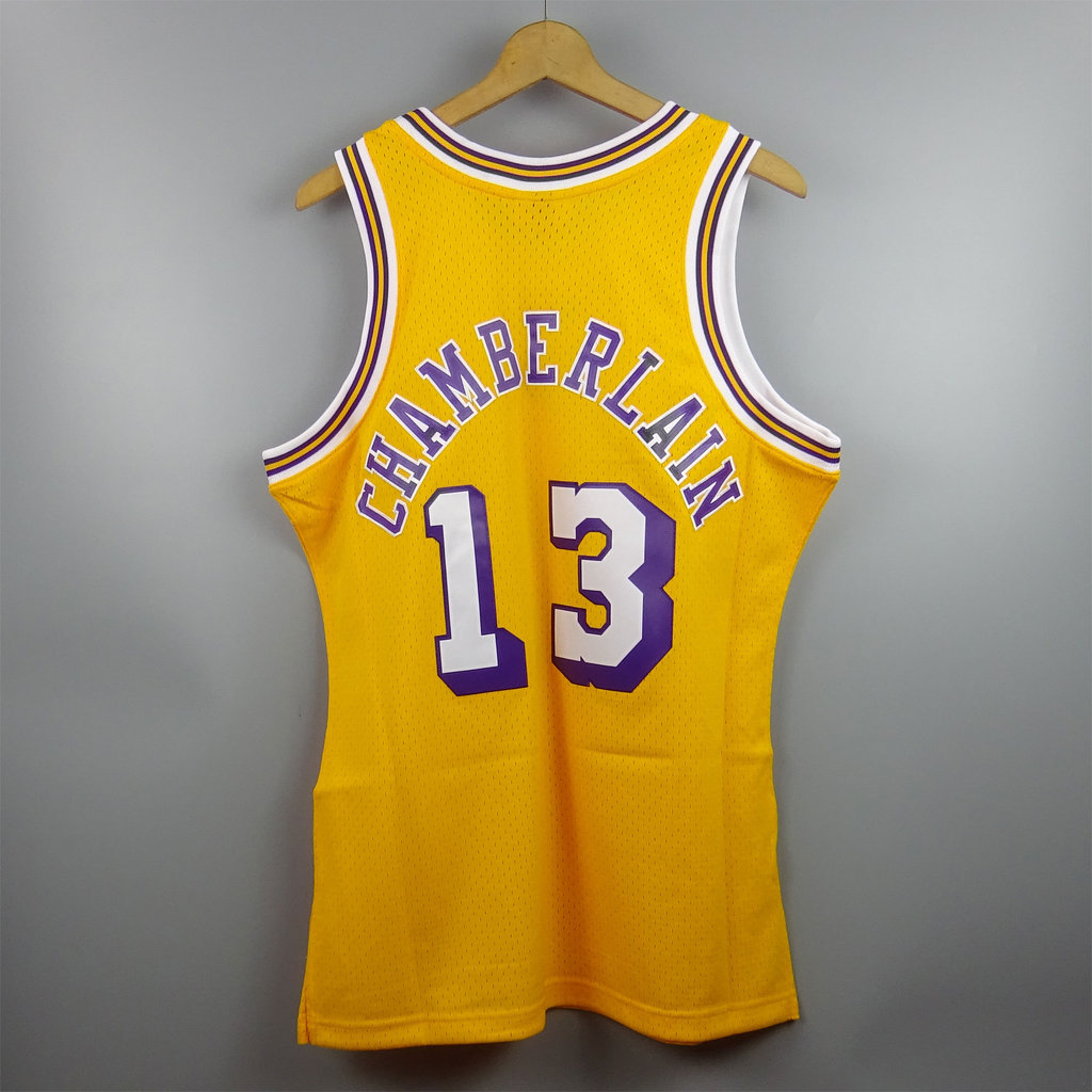 best service a4de6 da970 Camiseta Wilt Chamberlain. Angeles Lakers NBA Hardwood Classics