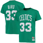 Camiseta Larry Bird. Boston Celtics.Hardwood Classics manga corta